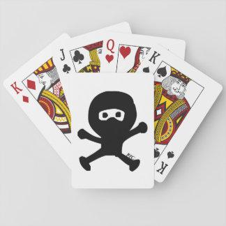Jeu De Cartes Cartes de jeu mignonnes d'étreinte de Ninja