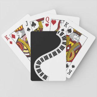 Jeu De Cartes Cartes de jeu musicales de clavier de piano
