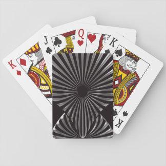 Jeu De Cartes Cartes de jeu noires de Deco