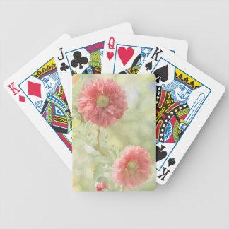 Jeu De Cartes Cartes de jeu orientées florales