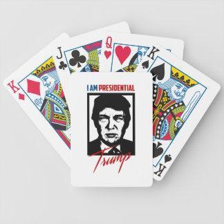 Jeu De Cartes Cartes de jeu présidentielles de Donald Trump