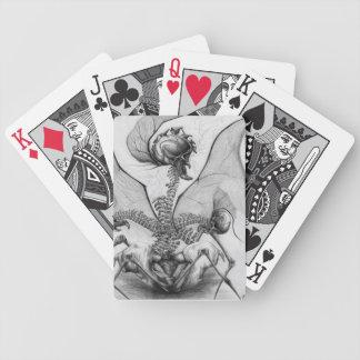 Jeu De Cartes Cartes de jeu semblables d'art de monstre
