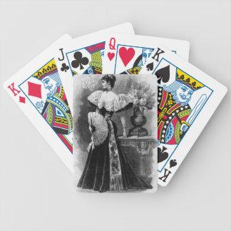 Jeu De Cartes Cartes de jeu victoriennes de grâce