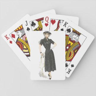 Jeu De Cartes Cartes démodées de Madame jeu