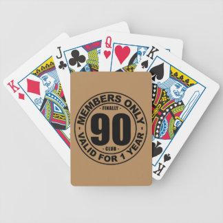Jeu De Cartes Club enfin 90