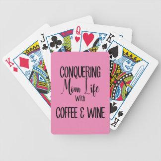 Jeu De Cartes Conquête de MomLife sur le café et le vin