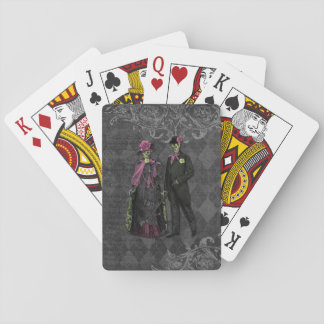 Jeu De Cartes Couples de squelette de Halloween