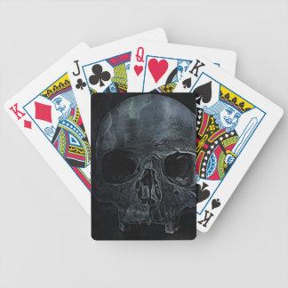 Jeu De Cartes Crâne squelettique médical gothique de rayon X