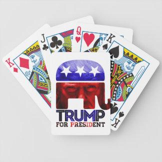 Jeu De Cartes Donald Trump pour le président 2016 avec la photo