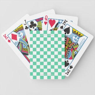 Jeu De Cartes Drapeau checkered vert