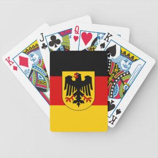 Jeu De Cartes Drapeau de l'Allemagne - le Bundesdienstflagge