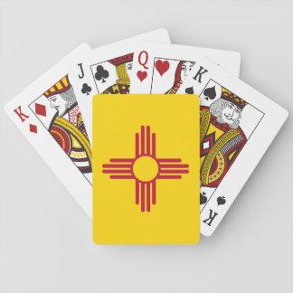 Jeu De Cartes Drapeau d'état du Nouveau Mexique