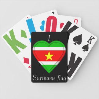 Jeu De Cartes Drapeau du Surinam