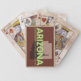 Jeu De Cartes ESPRIT de l'ARIZONA affligé de carte de jeu