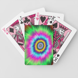 Jeu De Cartes Explosion des cartes de jeu de couleur