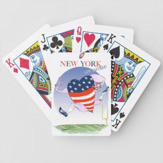 Jeu De Cartes fernandes élégants bruyants et fiers de New York,