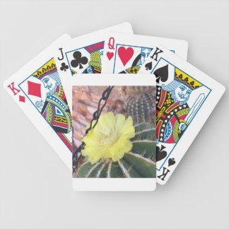 Jeu De Cartes Fleur jaune de cactus