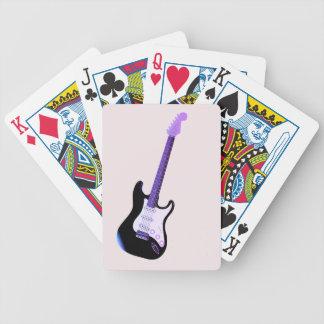 Jeu De Cartes Guitare basse, cartes de jeu de tisonnier de