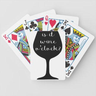 Jeu De Cartes Heure de vin