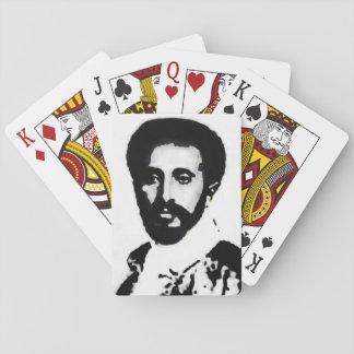 Jeu De Cartes IL cartes de jeu de Haile Selassie I