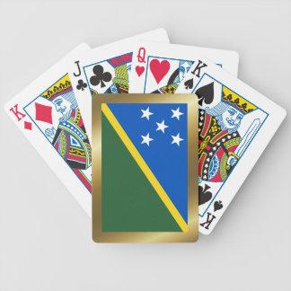 Jeu De Cartes Îles Salomon marquent des cartes de jeu