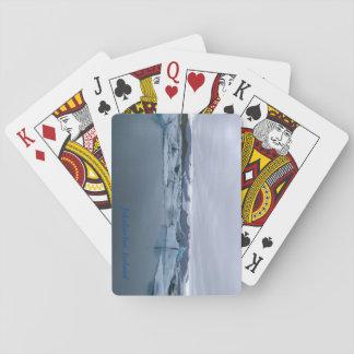 Jeu De Cartes Jokulsarlon, cartes de jeu de lagune