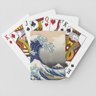 Jeu De Cartes KATSUSHIKA HOKUSAI - La grande vague outre de