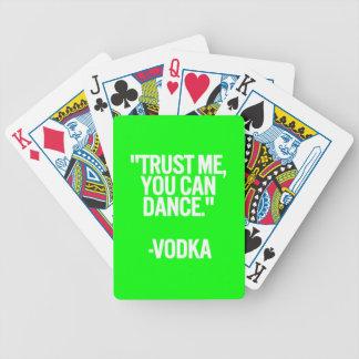 Jeu De Cartes La danse de vodka font confiance que je vous peut