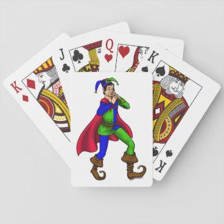 Jeu De Cartes La plate-forme du joker par Blaise Gauba