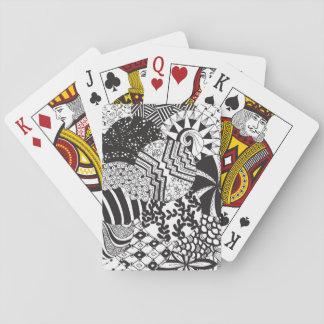 Jeu De Cartes Le cercle de Zendoodle modèle des cartes de jeu de