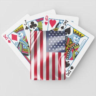 Jeu De Cartes Les Etats-Unis diminuent pour des cartes de jeu de
