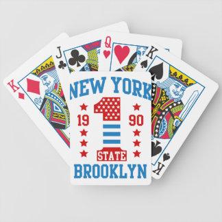 Jeu De Cartes L'état de New-York Brooklyn