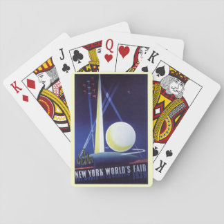 Jeu De Cartes L'Exposition universelle de New York City en 1939,