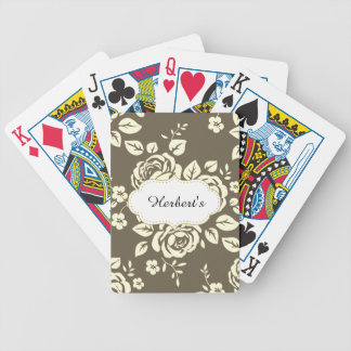 Jeu De Cartes Modèle-CONCEPTION (c) Family-Name_Cards_Taupe-