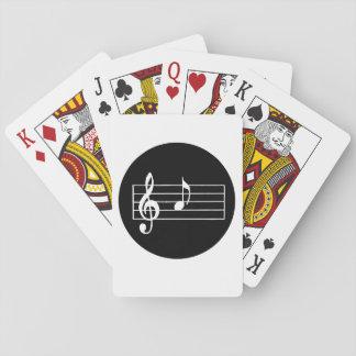 Jeu De Cartes Note musicale A