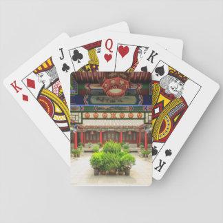 Jeu De Cartes Petit temple sauvage d'oie, Chine