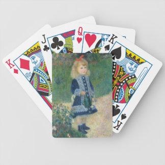 Jeu De Cartes Pierre un Renoir | une fille avec une boîte