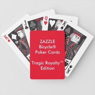 Jeu De Cartes Pourcentage tragique fait sur commande de cartes