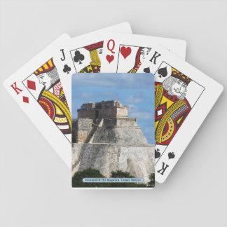 Jeu De Cartes Pyramide du magicien, Uxmal, Mexique