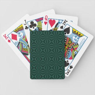 Jeu De Cartes Rayons de soleil dans les cartes de jeu carrelées