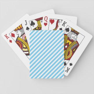 Jeu De Cartes Rayures standard de diagonale de cartes de jeu