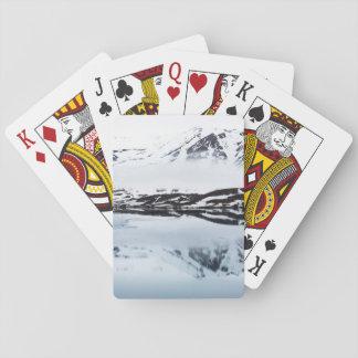 Jeu De Cartes Réflexions de montagne, Norvège
