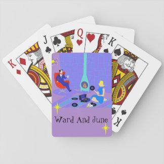 Jeu De Cartes Rétro même à la maison des cartes de jeu