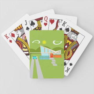 Jeu De Cartes Rétros cartes de jeu de Chambre de Palm Springs