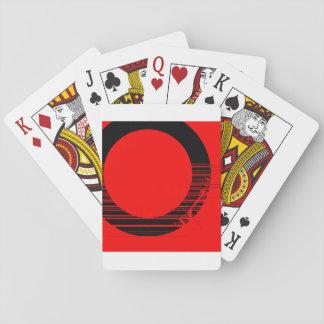 Jeu De Cartes rouge et noir