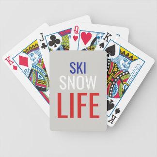 Jeu De Cartes Ski, neige, la vie