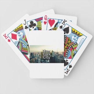 Jeu De Cartes Souvenir de New York City
