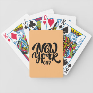 Jeu De Cartes Style de New York City