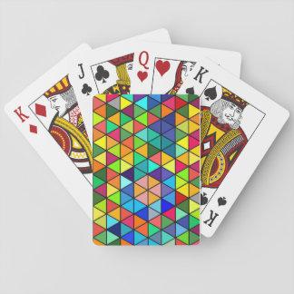 Jeu De Cartes Triangles de couleur