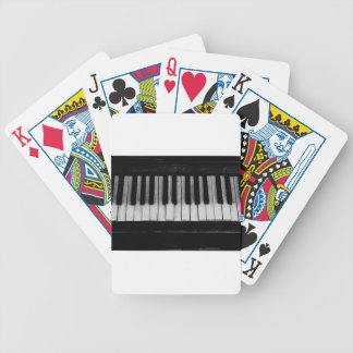 Jeu De Cartes Vieille musique d'instrument de clavier de piano à